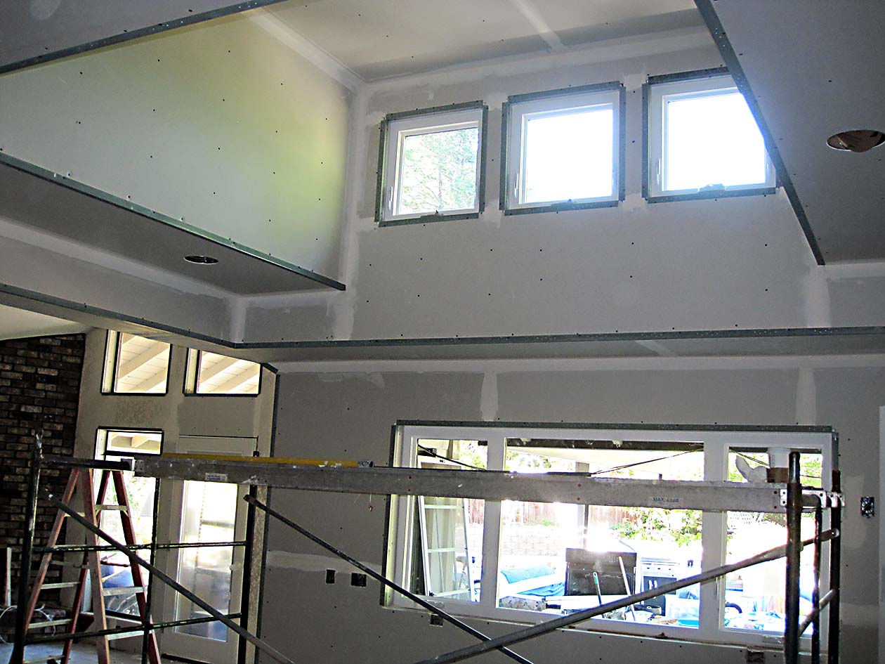 Kitchen remodel hiline builders inc blog Ceiling window