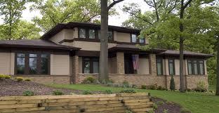 Frank Lloyd Wright Prairie Style House