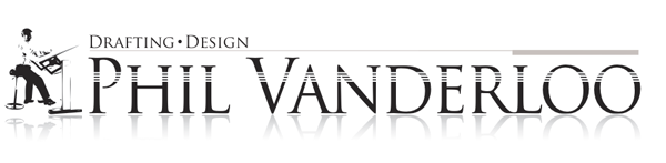 Phil Vanderloo Drafting and Design logo