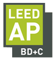 A Certified Green Building Professional, LEED AP BD+C